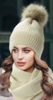 Снуд и шапка  № V9006+V90063