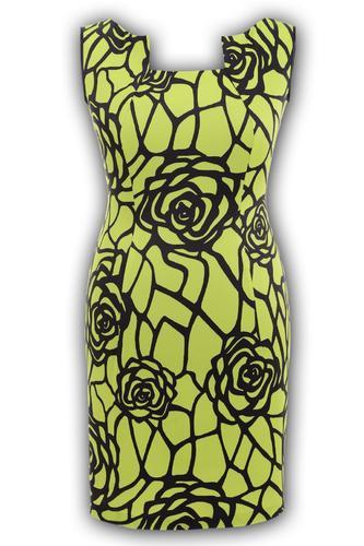 Платье № 86151N роза салатовая (розница 600 грн.)