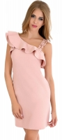 Платье № 3396SN пудра (розница 605 грн.)