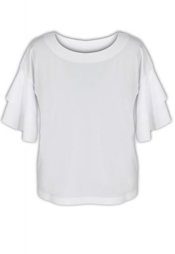 Блуза № 3359SN белая (розница 475 грн.)