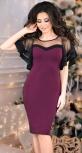 Красивое нарядное платье,марсала