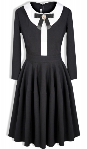 Платье № 3421SN черное