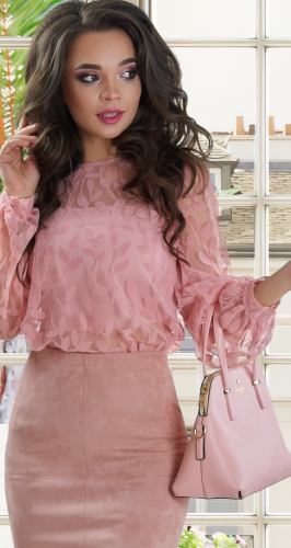 Роскошная блузка № 1814