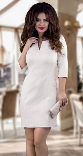 Нарядное платье  из фактурной ткани