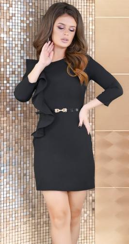 Платье № 32072SN черный
