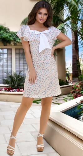 Лёгкое  платье № 3344