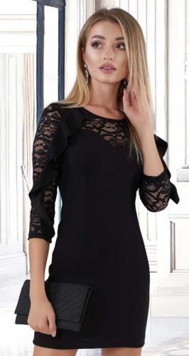 Красивое платье № 3554