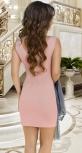 Стильное платье-двойка № 39323