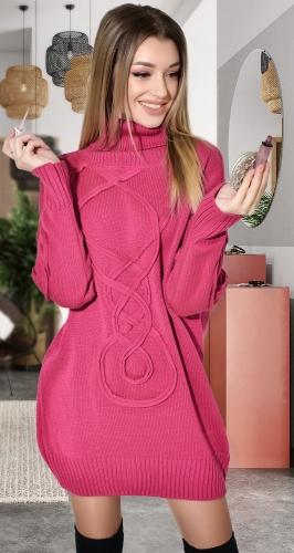 Свитер-платье № V90122
