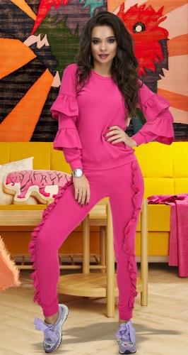 Розовый костюм № 3737