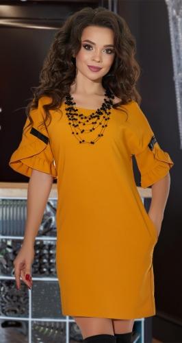 Свободное платье № 3651