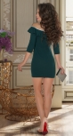 Нарядное платье с кристаллами № 36983