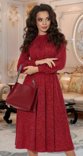 Тёплое платье № 4196