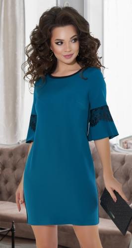 Свободное яркое платье № 3616
