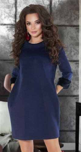 Тёплое платье № 3501