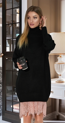 Свитер-платье № V9012