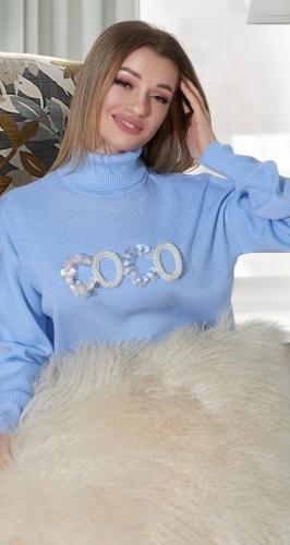Нарядный свитерок COCO № 9013