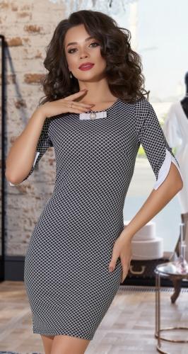 Стильное платье № 1612