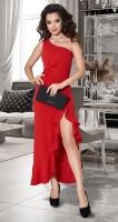 Вечернее платье с разрезом № 4231