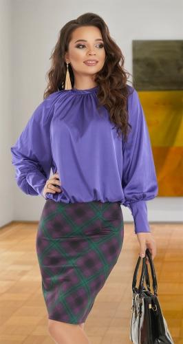 Шёлковая блуза № 4148
