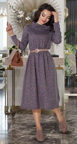 Платье с напуском № 4124