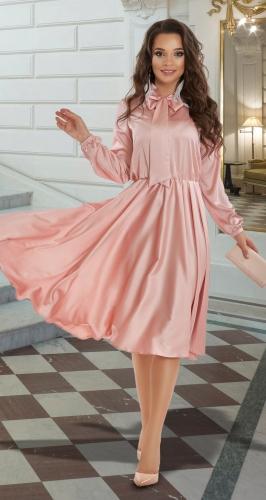 Шёлковое платье № 4144