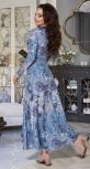 Длинное платье № 4240