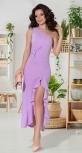 Вечернее платье с высоким разрезом № 4231