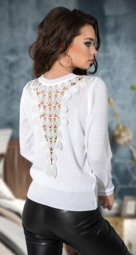 Белый свитерок № 900914