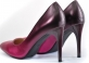 Туфли цвет марсала переходящий в фуксию