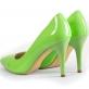 Туфли салатовые