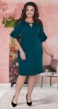 Платье № 1502 красное
