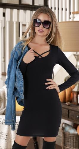 Маленькое чёрное платье № 4107