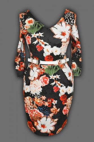 Платье № 996N с рукавом (розница 608 грн.)