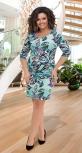 Красивое короткое платье № 141921,мятное