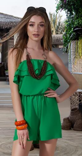 Модный комбинезон с шортами № 4002N,зелёный