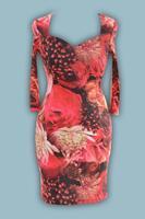 Платье № 1200N розы (розница 605 грн.)