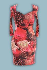 Платье № 1200 розы
