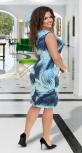 Платье без рукава с красивым декольте № 86141
