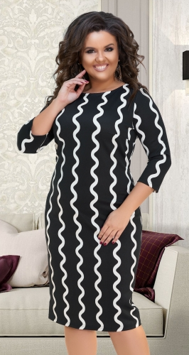 Эффектное платье № 16051