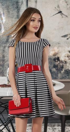 Лёгкое платье в полоску № 30706