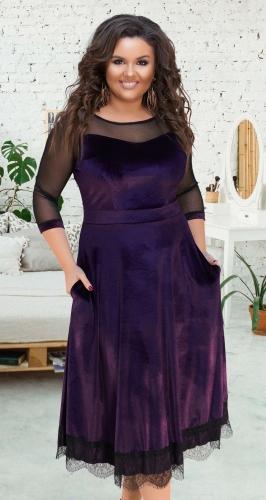 Нарядное длинное платье № 17331,марсала