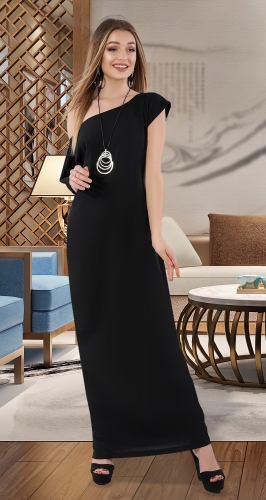 OVERSIZE платье № 4022 , чёрное
