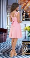 Стильный красивый сарафан № 33683,розовый