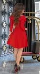 Красивое красное платье № 3607N