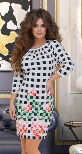 Эффектное платье № 1421