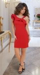 Красивое красное платье № 3396