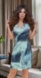 Платье без рукава с красивым декольте № 8614