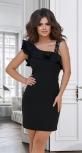 Красивое чёрное платье № 3396