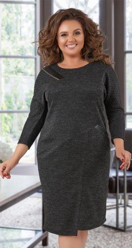 Стильное асимметричное платье № 40421